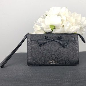 NEW! Kate Spade Hayes Bow Wristlet